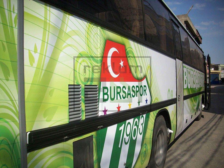 Arac Giydirme reklam folyu Bursa 17